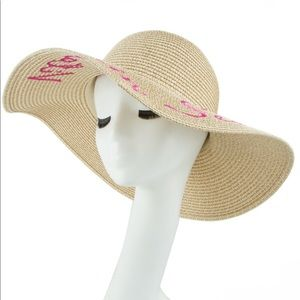 "VITAMIN SEA"" Floppy Hat"